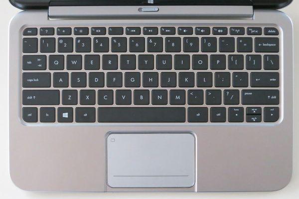 Клавиатура и сенсорная панель ноутбука HP ENVY x2