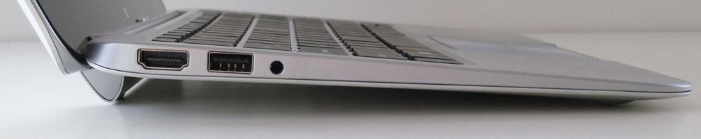Порты ноутбука HP ENVY x2 с левой стороны