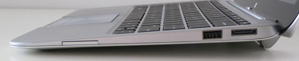 Порты ноутбука HP ENVY x2 с правой стороны