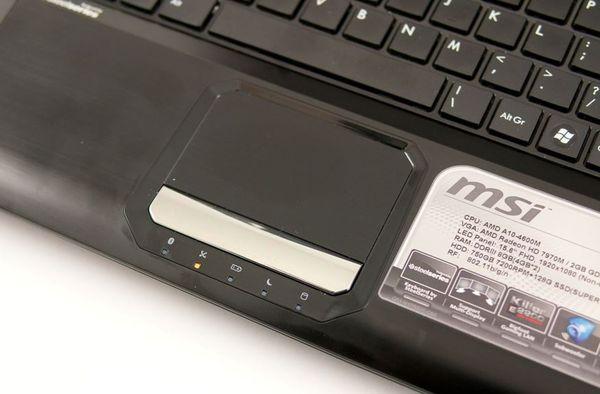 Тачпад ноутбука MSI GX60