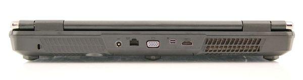Задняя сторона MSI GX60