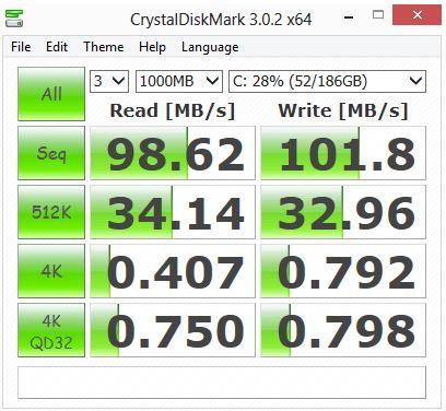Crystal DiskMark