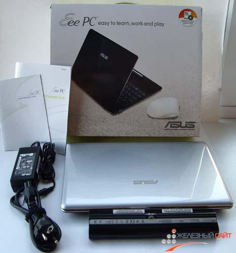 Комплектация Asus Eee PC 1201T
