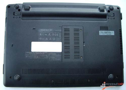 Нижняя сторона Asus Eee PC 1201T