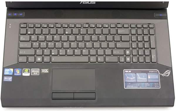 Клавиатура ноутбука G73JW-A1