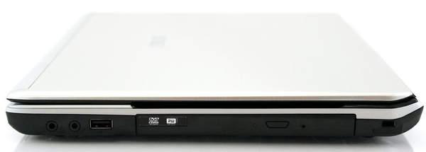 Правая сторона ноутбука Asus U41JF
