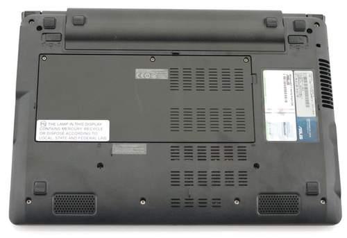 Нижняя часть ноутбука ASUS UL20FT