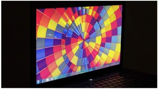 Дисплей ноутбука HP ProBook 4520 - горизонтальный угол обзора