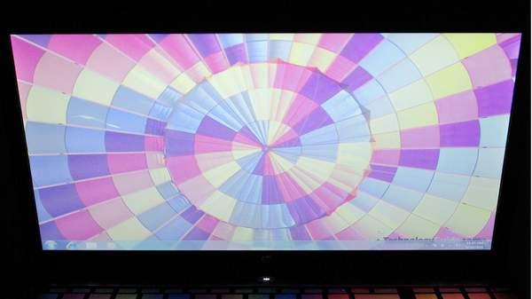 Дисплей ноутбука HP ProBook 4520 - вертикальный угол обзора