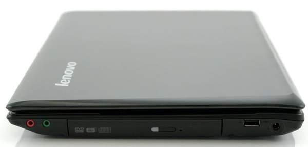 Правая сторона Lenovo G560