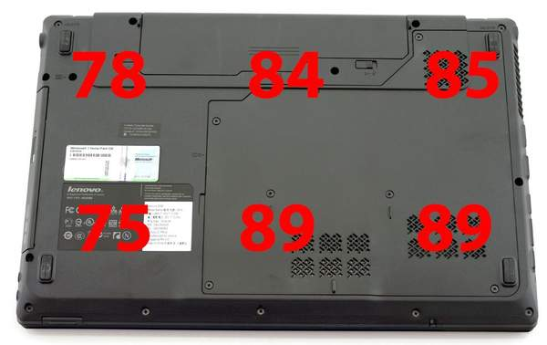 Температура ноутбука Lenovo G560
