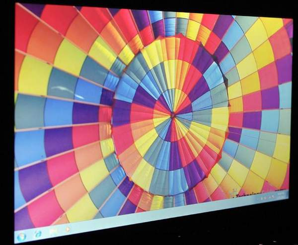 Горизонтальные углы обзора Lenovo IdeaPad V460