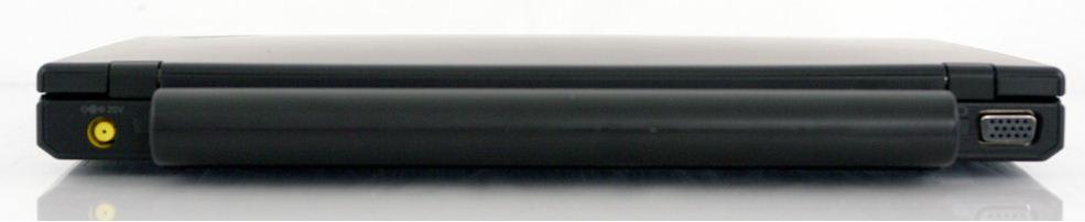 Ноутбук Lenovo ThinkPad X120e - вид сзади
