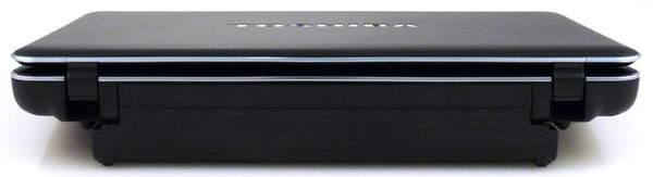 Ноутбук Toshiba Satellite U505 - задняя сторона