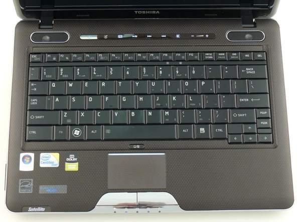 Клавиатура ноутбука Toshiba Satellite U505
