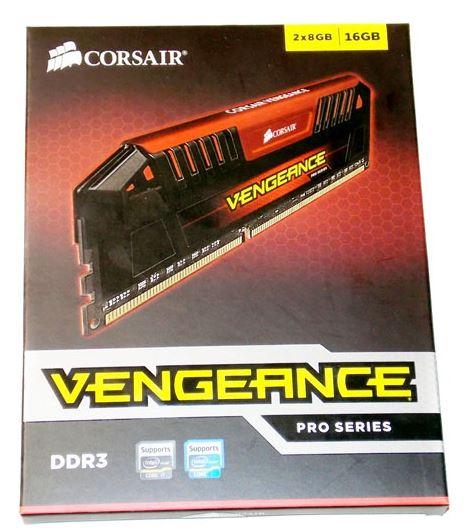 Упаковка Corsair Vengeance Pro