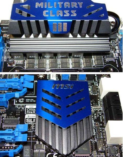 Система охлаждения MSI X79A-GD65