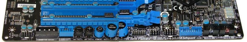 Средства управления и дополнительные колодки MSI X79A-GD65
