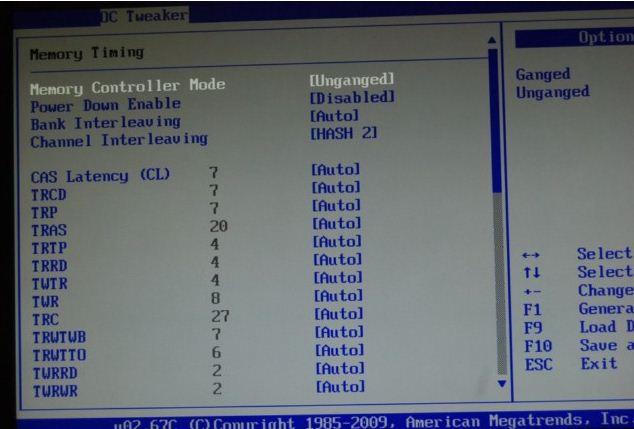 Установка таймингов в BIOS платы ASRock 890FX Deluxe4
