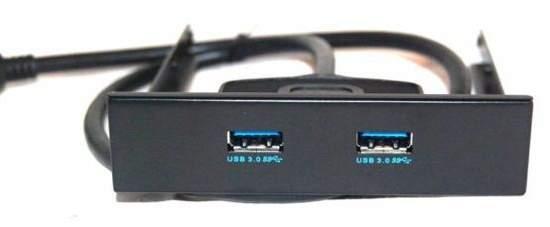 Выносная панель USB 3.0