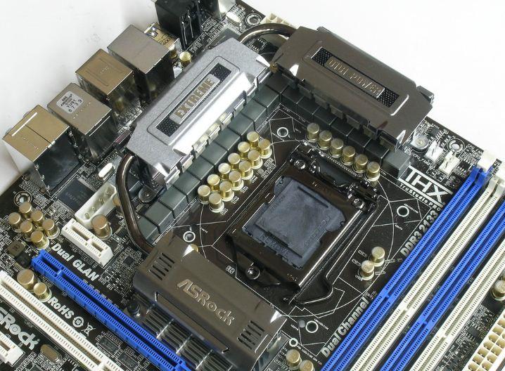 Система охлаждения ASRock P67 Extreme6