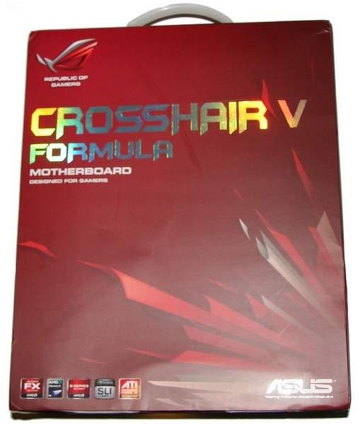 Упаковка материнской платы Asus Crosshair V Formula