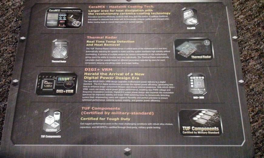 Упаковка Asus Sabertooth 990FX - обратная сторона