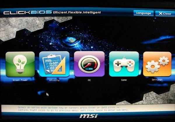 Материнская плата MSI Z68A-GD80 имеет UEFI BIOS