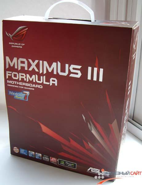 Упаковка Maximus III Formula