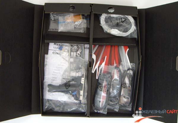 Коробка с дополнительными аксессуарами