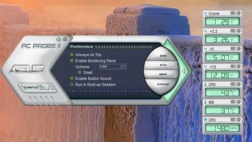 Утилита Asus PC Probe II
