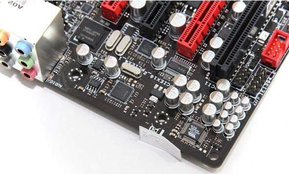 Роль аудио кодека на плате Rampage III Gene выполняет контроллер VIA VT2020
