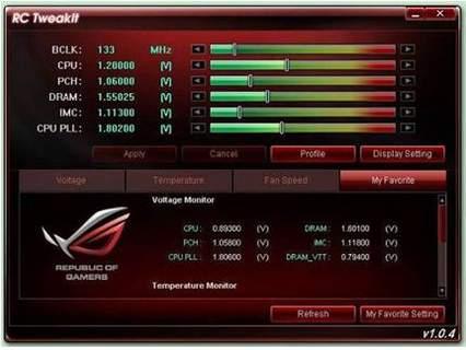 Разгон Asus Rampage III Gene может производиться с другого компьютера или ноутбука