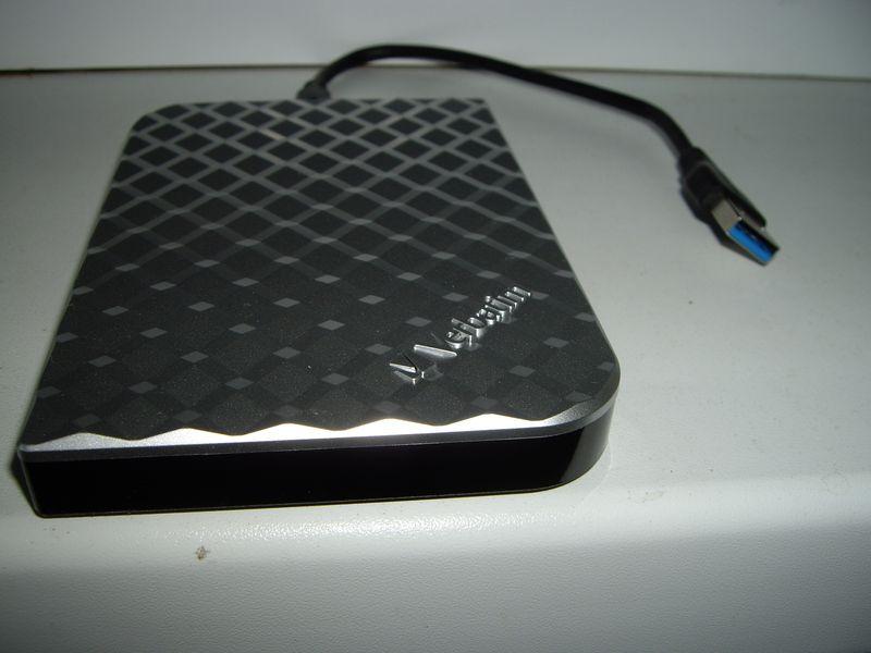 Обзор портативного внешнего жесткого диска Verbatim Store 'n' Go 1 Тб USB 3.0