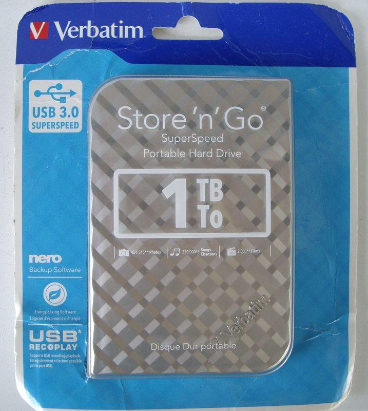 Упаковка Verbatim Store 'n' Go 1 Тб USB 3.0