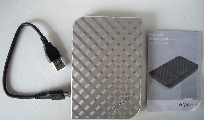 Комплектация Verbatim Store 'n' Go 1 Тб USB 3.0