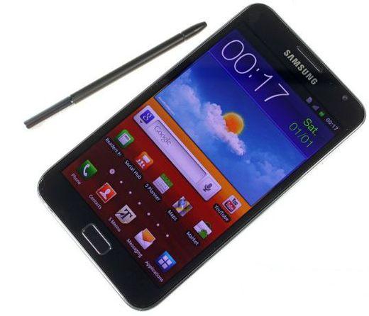 Дисплей Galaxy Note