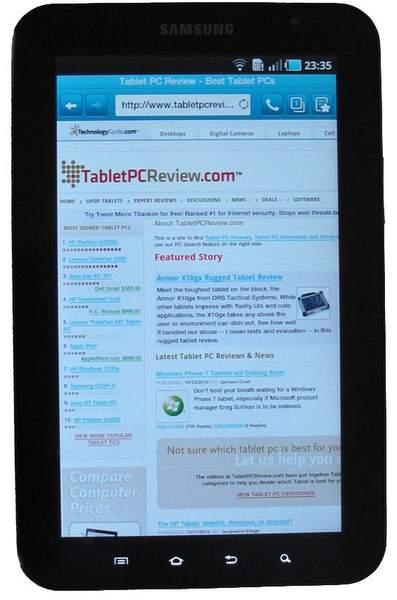 Дисплей Samsung Galaxy Tab