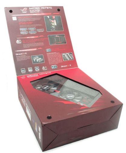 Коробка видеокарты