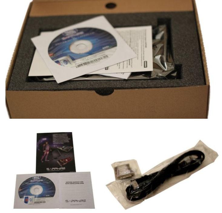 Комплектация Sapphire HD 7750 Ultimate