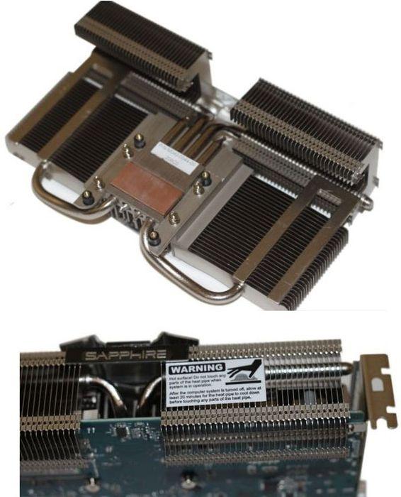 Радиатор HD 7750 Ultimate