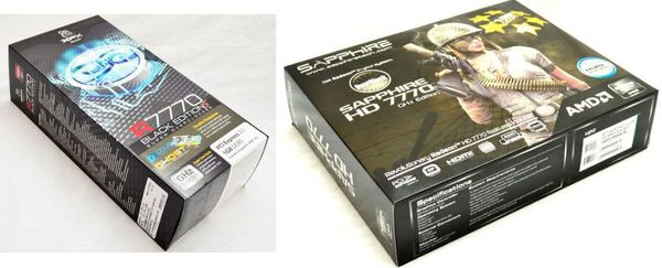 Обзор видеокарт XFX и Sapphire HD 7770
