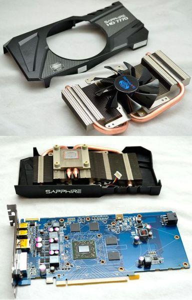 Видеокарта Sapphire HD 7770 без охлаждения