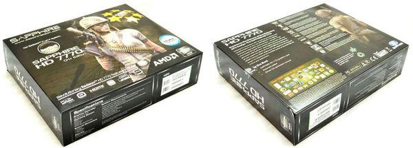 Упаковка Sapphire HD 7770