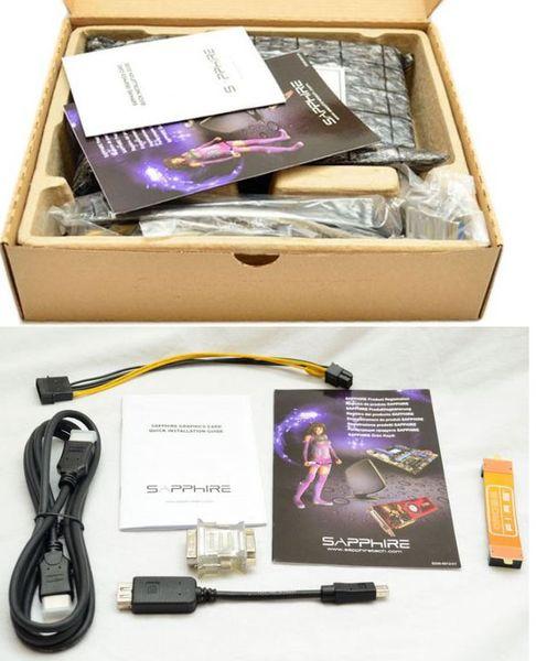 Комплектация видеокарты Sapphire HD 7770