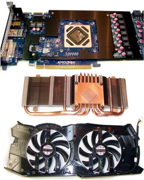 Система охлаждения Sapphire HD 7950