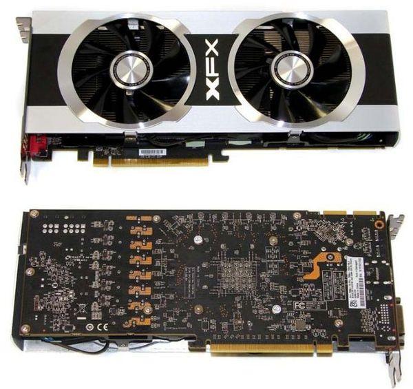 Видеокарта XFX HD 7950 Black Edition Double Dissipation