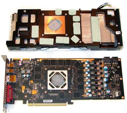 Система охлаждения XFX HD 7950