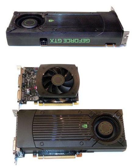 Укороченная печатная плата NVIDIA GeForce GTX 650Ti Boost