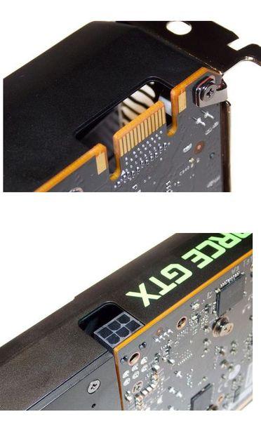 Интерфейс и разъем SLI видеокарты NVIDIA GeForce GTX 650Ti Boost